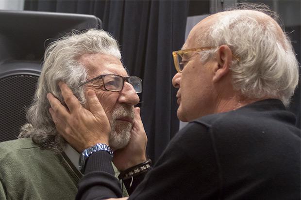 Francesc Burrull y Joan Isaac. © Xavier Pintanel