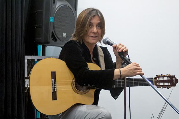 Sílvia Comes interpretó «Lucía». © Xavier Pintanel