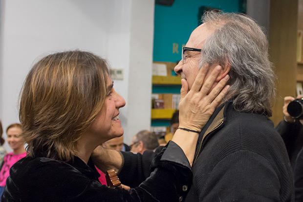 Sílvia Comes y Joan Manuel Serrat. © Xavier Pintanel