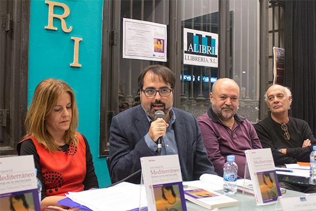 De izquierda a derecha: Núria Martorell, Luis García Gil, Fermí Puig y Joan Isaac. © Xavier Pintanel