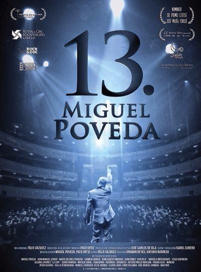 Portada del DVD «13» de Miguel Poveda.