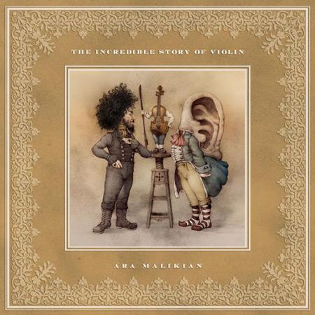 Portada del disco «The Increible Story of Violin» de Ara Malikian.