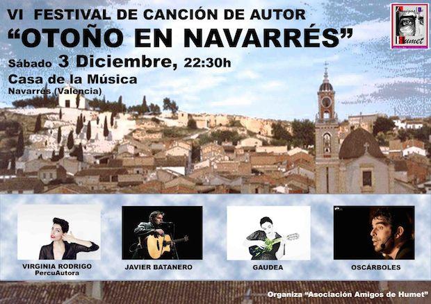 VI Edición del festival Otoño en Navarrés.