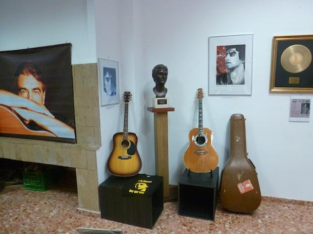 Exposición sobre Joan Baptista Humet. Navarrés, 2015. © Mª Gracia Correa