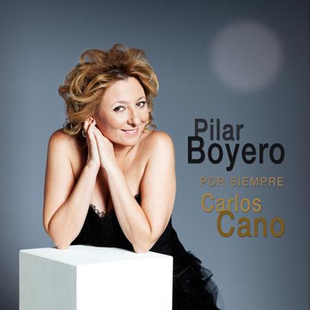 Portada del disco «Por siempre Carlos Cano» de Pilar Boyero.