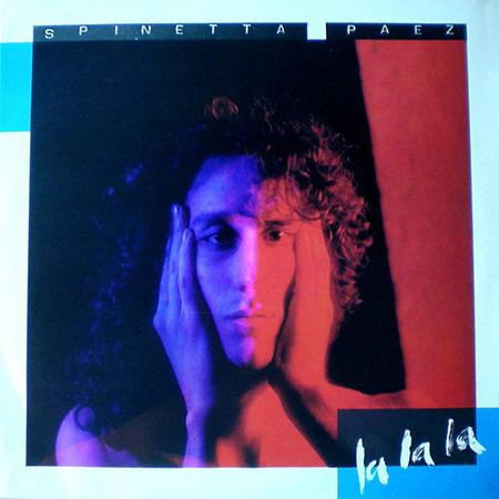 Portada del disco «La la la» de Fito Páez y Luis Alberto Spinetta.
