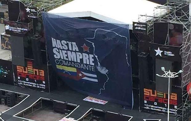 III Festival Latinoamericano de Música Suena Caracas 2016.