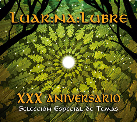 Portada del disco «XXX Aniversario» de Luar Na Lubre.