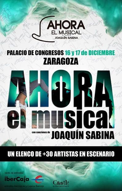 «Ahora», el musical con canciones de Joaquín Sabina.
