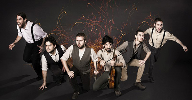 La banda catalana de folk-rock Ebri Knight.