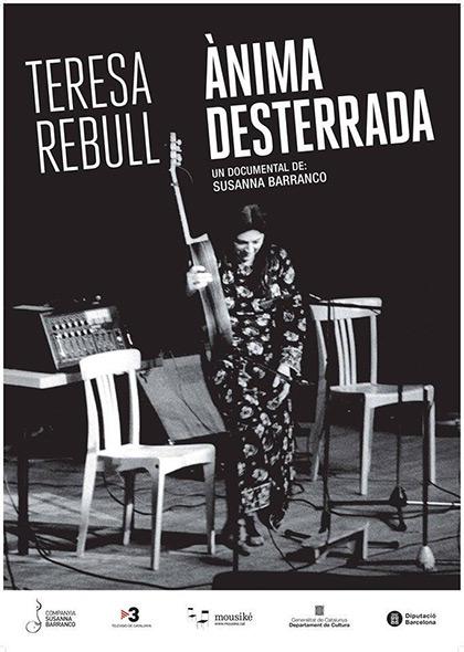 Cartel de la película «Teresa Rebull. Ànima desterrada», de Susanna Barranco.