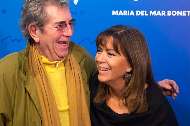 Quico Pi de la Serra y Maria del Mar Bonet reeditan sus míticos conciertos conjuntos de 1979. © Xavier Pintanel