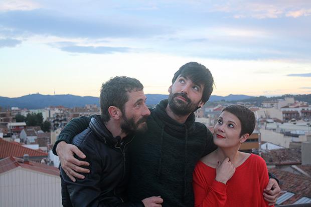 Mireia Vives, Borja Penalba i Roc Casagran