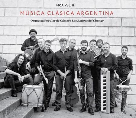 Portada del disco «Música Clásica argentina Volumen 2» de Los amigos del Chango.