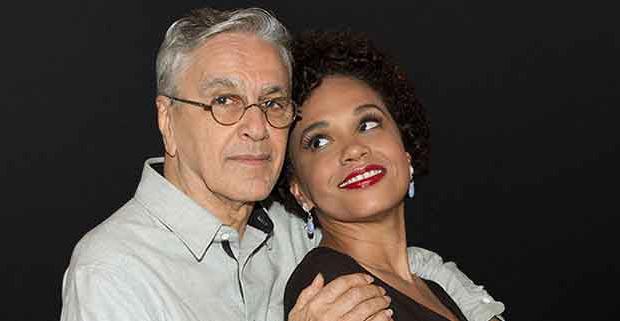 Caetano Veloso y Teresa Cristina.