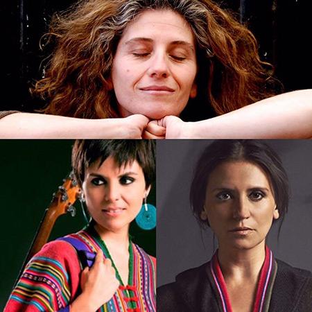 Elizabeth Morris, Francisca Gavilán y Magdalena Matthey presentan «El cantar de Violeta».