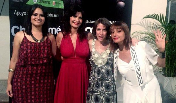 Elena Roger, Hilda Lizarazu, Soledad Villamil y Valeria Gómez.