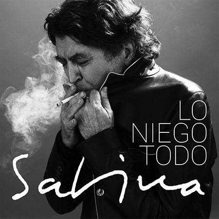 Portada del single «Lo niego todo» de Joaquín Sabina.