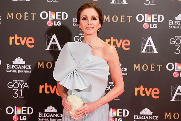 Ana Belén en la ceremonia de entrega de los Premios Goya. © Miguel Córdoba | Academia de Cine