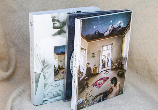 Portada del disco «Testimonios III y IV» de Negro y Blanco.