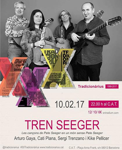Tren Seeger, un homenaje a Pete Seeger.