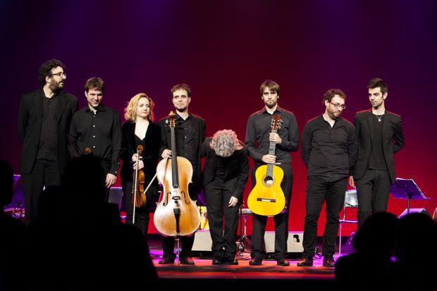 Mayte Martín y su banda. © Isabel Camps
