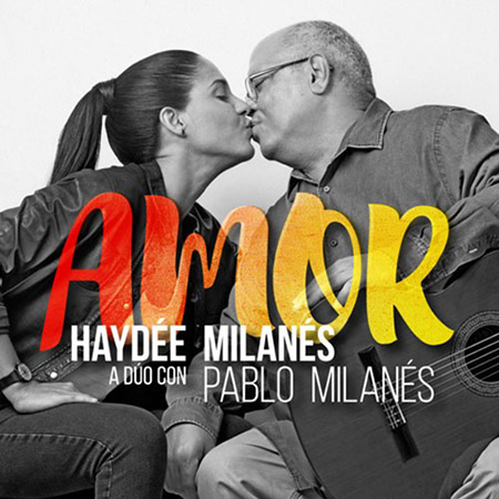 Portada del disco «Amor» de Haydée y Pablo Milanés.