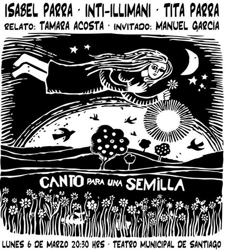 Isabel Parra e Inti-Illimani homenajearán a Violeta con «Canto para una semilla».