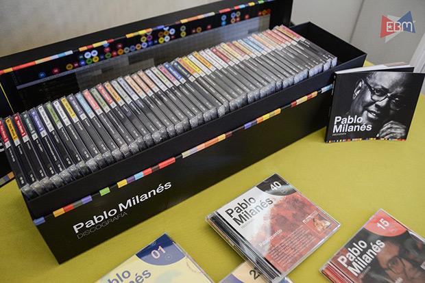 Colección Pablo Milanés Discografía. © EBM