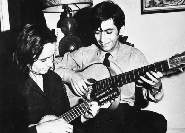 Violeta y Ángel Parra