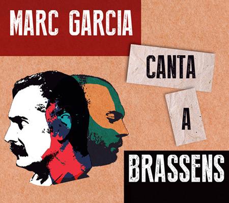 Portada del disco «Marc García canta a Brassens» de Marc García.