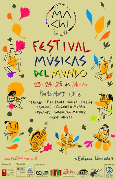 I Festival Músicas del Mundo Puerto Montt 2017.