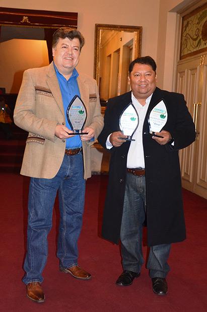 Edwin Castellanos y Rimer Guachalla de Tupay.