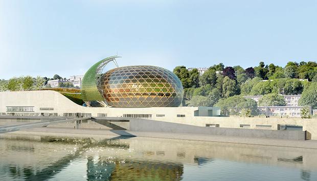 La Seine Musicale, el nuevo símbolo de París en medio del Sena.