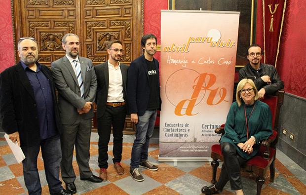 Presentación de la XVI edición del Festival Abril para Vivir 2017. © Curro Carmona