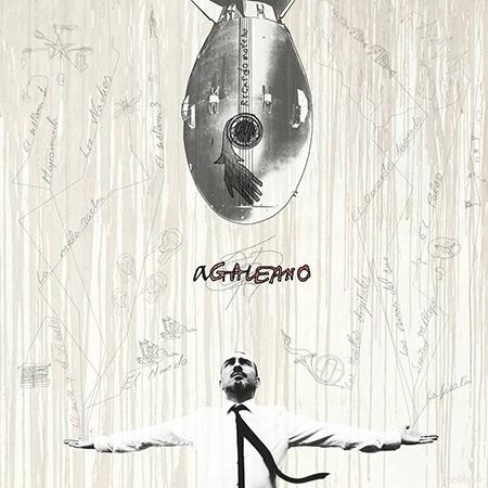 Portada del disco «aGaleano» de Rycardo Moreno.
