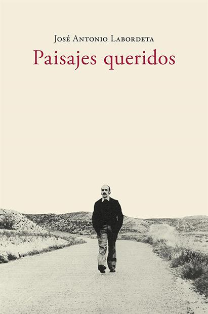 Portada del libro «Paisajes queridos» de José Antonio Labordeta.