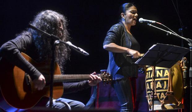 Fernando Barrientos y Mariana Baraj.