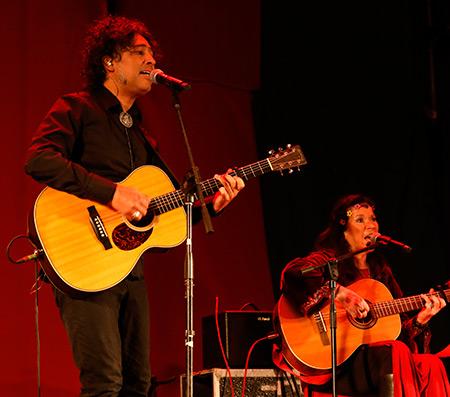 Manuel García y Tita Parra. © Manu Rojas