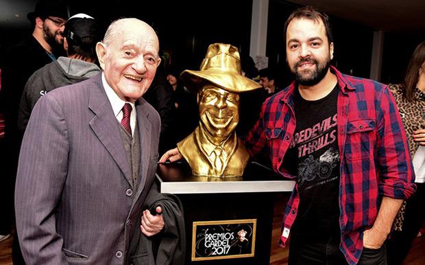 Vitillo Ábalos y Juan Gigena Ábalos, nominados al Mejor Álbum Artista Masculino de Folklore. © Télam