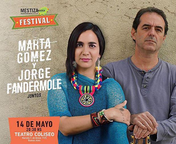 «Marta Gómez y Jorge Fandermole juntos».