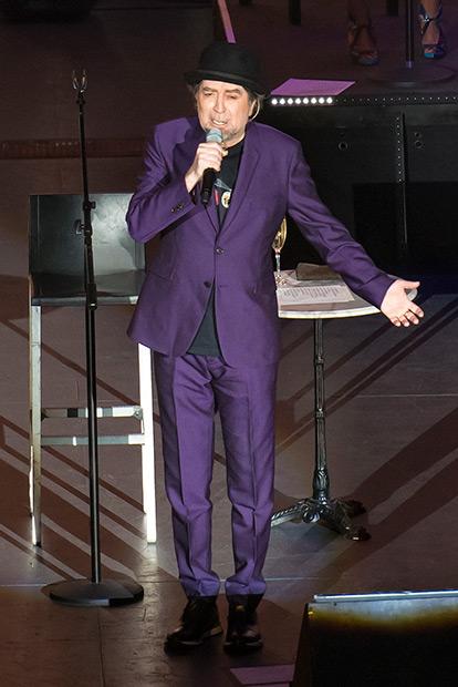 Joaquín Sabina en el Auditorio Nacional de México. © Prensa Cultura Ciudadana