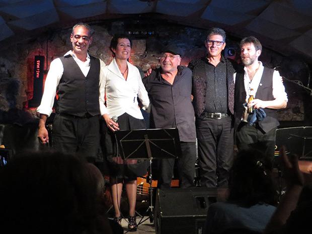 De izquierda a derecha: Gustavo Battaglia, Sandra Rehder, Horacio Fumero, Roger Blàvia y Marcelo Mercadante. © Isabel Llano