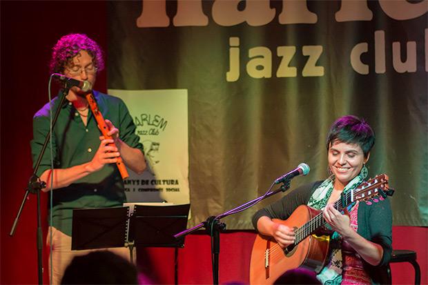 Elizabeth Morris con Pablo Giménez. © Xavier Pintanel