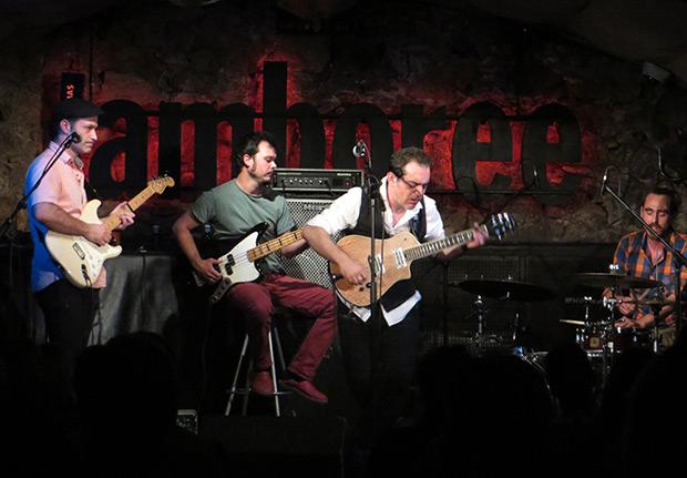 De izquierda a derecha: Mario Mas, Isaac Coll, Raúl Rodríguez y Aleix Tobías. © Isabel Llano