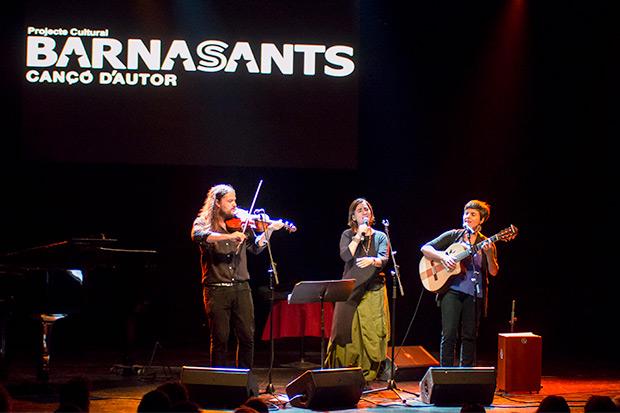 Nano Stern, Marta Gómez y Elizabeth Morris. © Xavier Pintanel