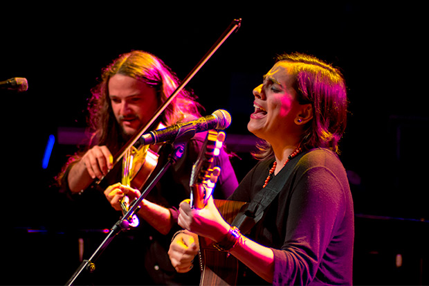 Nano Stern y Marta Gómez. © Xavier Pintanel