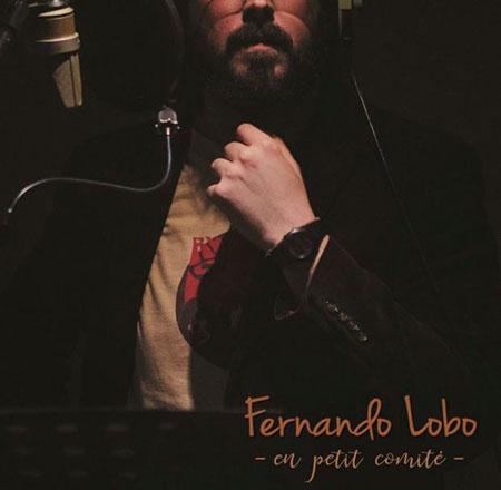 Portada del disco «En petit comité» de Fernando Lobo.