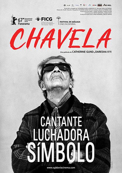 Afiche de la película «Chavela» de Catherine Gund y Daresha Kyi.