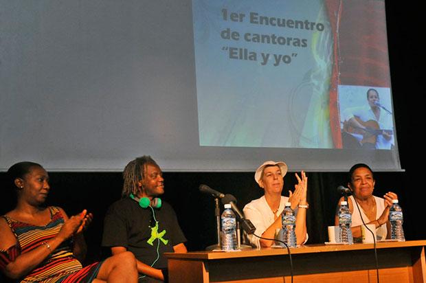 Presentación del primer Encuentro de Cantoras «Ella y Yo». © Juan Carlos Borjas